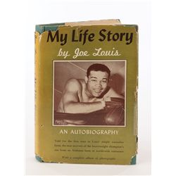 My Life Story by Joe Louis First Edition signed