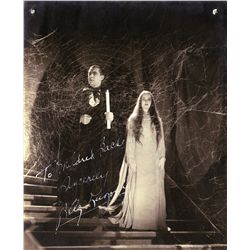 "Bela Lugosi portrait signed as ""Count Mora"" from Mark of the Vampire"