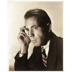 Humphrey Bogart portrait signed