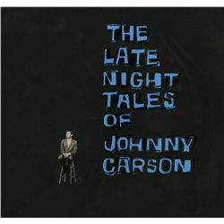 Original title cel from The Tonight Show with Johnny Carson