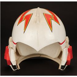 Red Squadron Starfighter helmet from Buck Rogers in the 25th Century