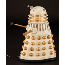 """Screen-used miniature Dalek from the Doctor Who episode """"Revelation of the Daleks"""""""