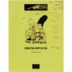 Collection of scripts and animation production materials for 2nd and 3rd seasons of The Simpsons