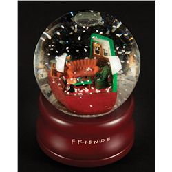 Snow globe cast only Christmas gift from Friends