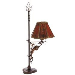 Cecil B. DeMille's personal Gothic Revival wrought-iron desk lamp