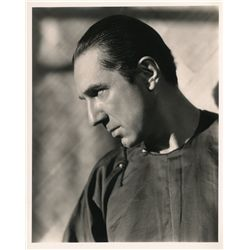 Vintage profile portrait of Bela Lugosi, ca. 1930