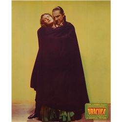 Dracula near-mint unrestored original Jumbo lobby-card from Bela Lugosi's own collection