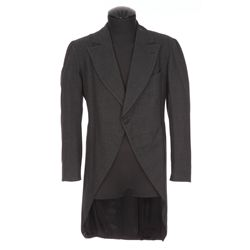 """Chico Marx """"Baravelli"""" charcoal-grey tail-coat from Horse Feathers"""