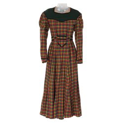 "Jean Parker ""Beth"" plaid period dress designed by Walter Plunkett  from Little Women"