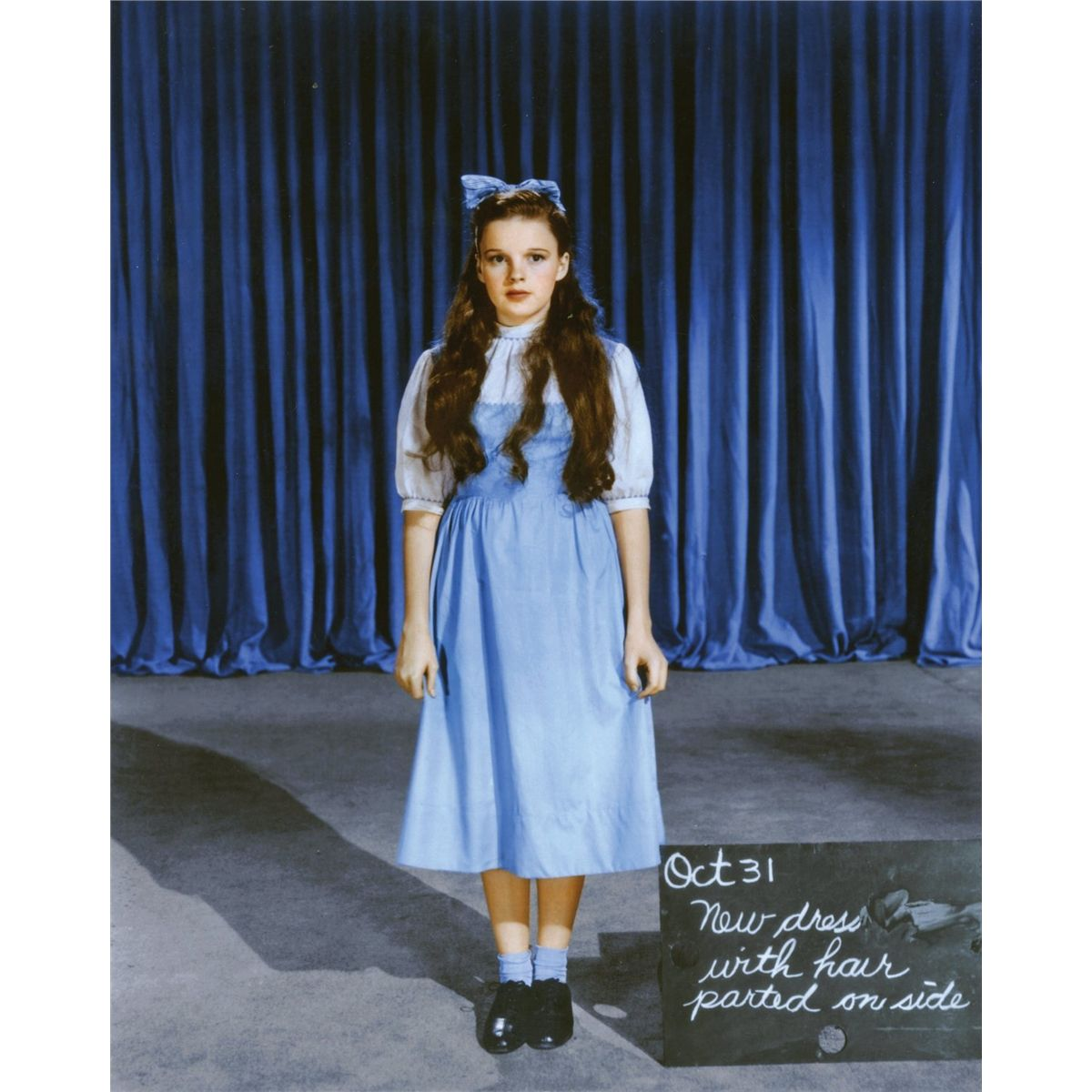 Create Your Home Design Online Judy Garland Quot Dorothy Gale Quot Solid Blue Cotton Test Dress