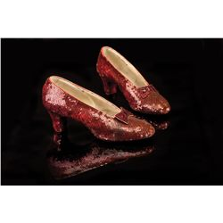 "Judy Garland ""Dorothy Gale"" screen-worn ruby slippers from The Wizard of Oz"