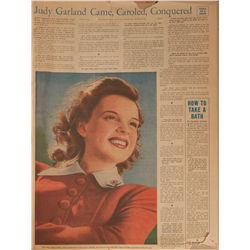 Judy Garland's personal scrapbook chronicling 1958-59 in photographs and newspaper clippings