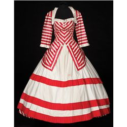 "Rosemary Clooney ""Calaveras Kate"" Victorian-style  gown designed by Edith Head from Red Garters"