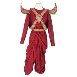 Royal Handmaiden costume designed by Irene Sharaff from The King and I