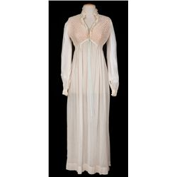 "Yvonne DeCarlo ""Amantha Starr"" nightgown designed by Marjorie Best from Band of Angels"