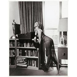 Collection of (5) oversize photos of Marilyn Monroe at home, printed ca. 1970