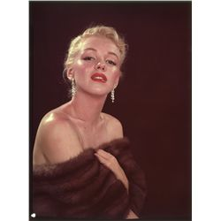 Marilyn Monroe original 3 x 4 in. color transparency
