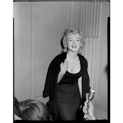 Marilyn Monroe original camera negatives, glamour poses