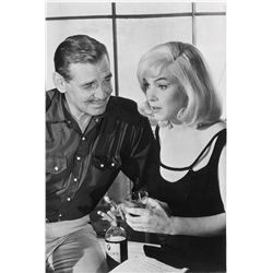 Marilyn Monroe and Clark Gable original camera negatives from The Misfits