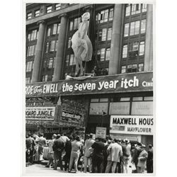 Marilyn Monroe extensive archive of production and publicity material from The Seven Year Itch