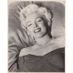 Marilyn Monroe's personal photograph signed by Clark Gable, Humphrey Bogart, Gary Cooper