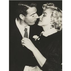Marilyn Monroe's platinum and diamond eternity wedding band given to her by Joe DiMaggio