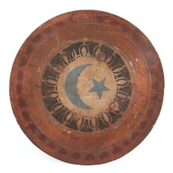 Three decorated Macedonian shields from the MGM 1959 Ben-Hur