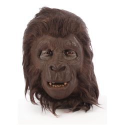 Planet of the Apes screen-worn background gorilla mask