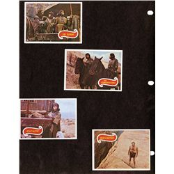 John Chambers set of Planet of the Apes trading cards