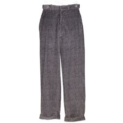 "Crispin Glover ""George McFly"" corduroy pants from Back to the Future"