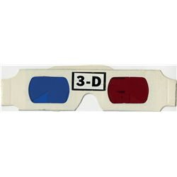 "Casey Siemaszko ""3-D"" glasses from Back to the Future"