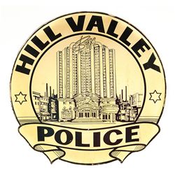 Hill Valley Police emblem from Back to the Future II