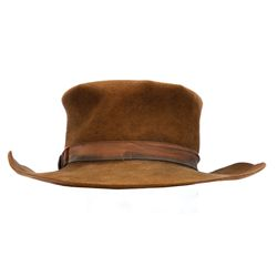 "Michael J. Fox ""Marty McFly"" ""Clint Eastwood"" hat from Back to the Future III"