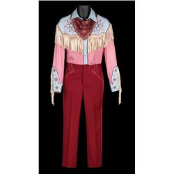 "Michael J. Fox ""Marty McFly"" 1950s cowboy costume from Back to the Future III"