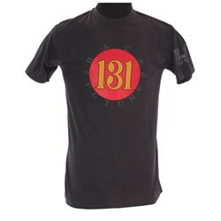 "Black ""ELB 131"" crew shirt from Back to the Future III"