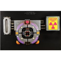 """""""Working"""" Flux Capacitor from the Back to the Future attraction at Universal theme park in Japan"""