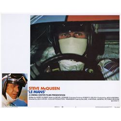 Complete set of (8) lobby cards from Le Mans