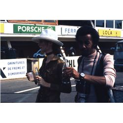Le Mans extensive collection of original 35mm publicity and reference slides