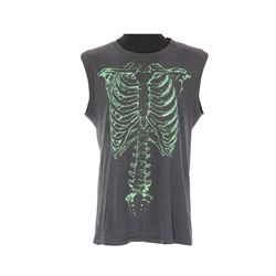 "Green skeleton shirt worn by Christopher Guest ""Nigel Tufnel"" in This is Spinal Tap"