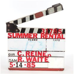 Carl Reiner clapperboard from Summer Rental