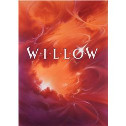 Original John Alvin final poster artwork for Willow