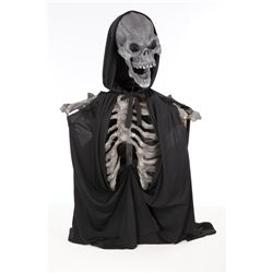 Ghost of Christmas Past screen-used skull and skeletal torso display from Scrooged