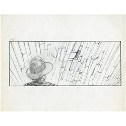 """Leap of faith"" storyboard sequence from Indiana Jones and the Last Crusade"