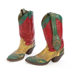 "Tom Cruise ""Cole Trickle"" boots from Days of Thunder"