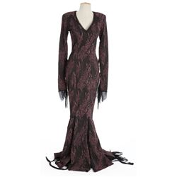 "Anjelica Huston ""Morticia"" costume from The Addams Family"