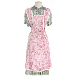 "Sally Fields ""Mrs. Gump"" dress and apron from Forrest Gump"