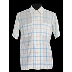 "Tom Hanks ""Forrest"" pastel-striped white cotton button down shirt from Forrest Gump"