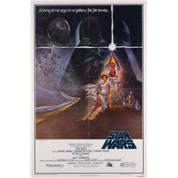 Star Wars: Episode IV- A New Hope mint condition folded style A 1-sheet