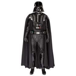 """Original """"Darth Vader"""" promotional costume for The Empire Strikes Back and Return of the Jedi"""