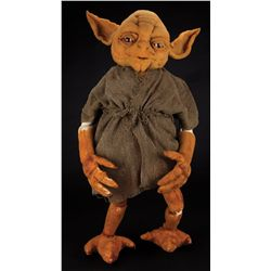 Yoda on-set rehearsal puppet from Star Wars: Episode V – The Empire Strikes Back